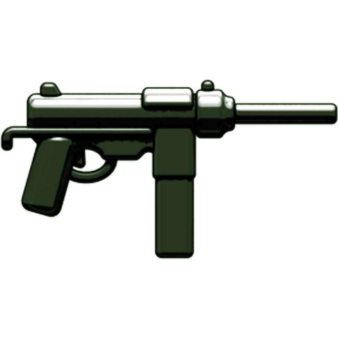 BrickArms Weapons M3 Grease Gun 2.5-Inch [Dark Olive Green]