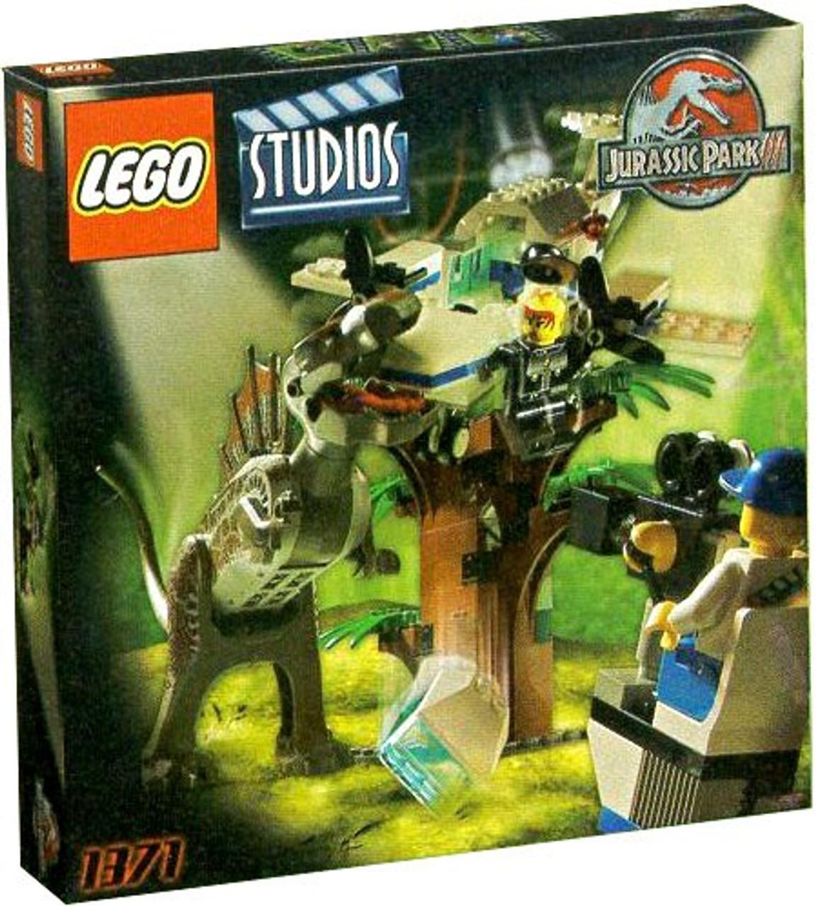 Lego jurassic park studios jurassic park iii spinosaurus attack set 1371 toywiz - Lego dinosaurs spinosaurus ...