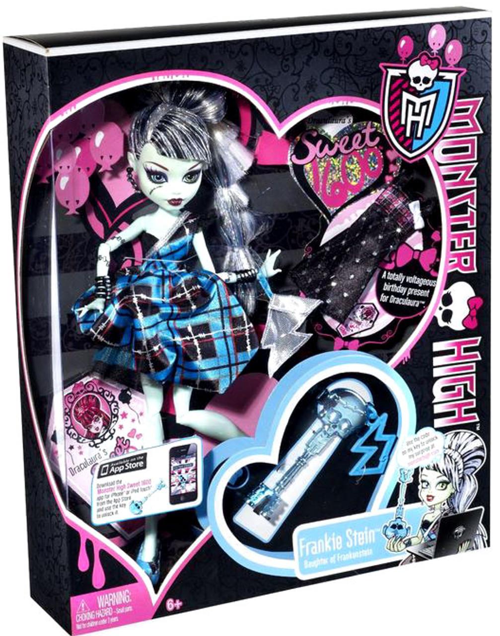 Monster High Sweet 1600 Frankie Stein 10.5-Inch Doll