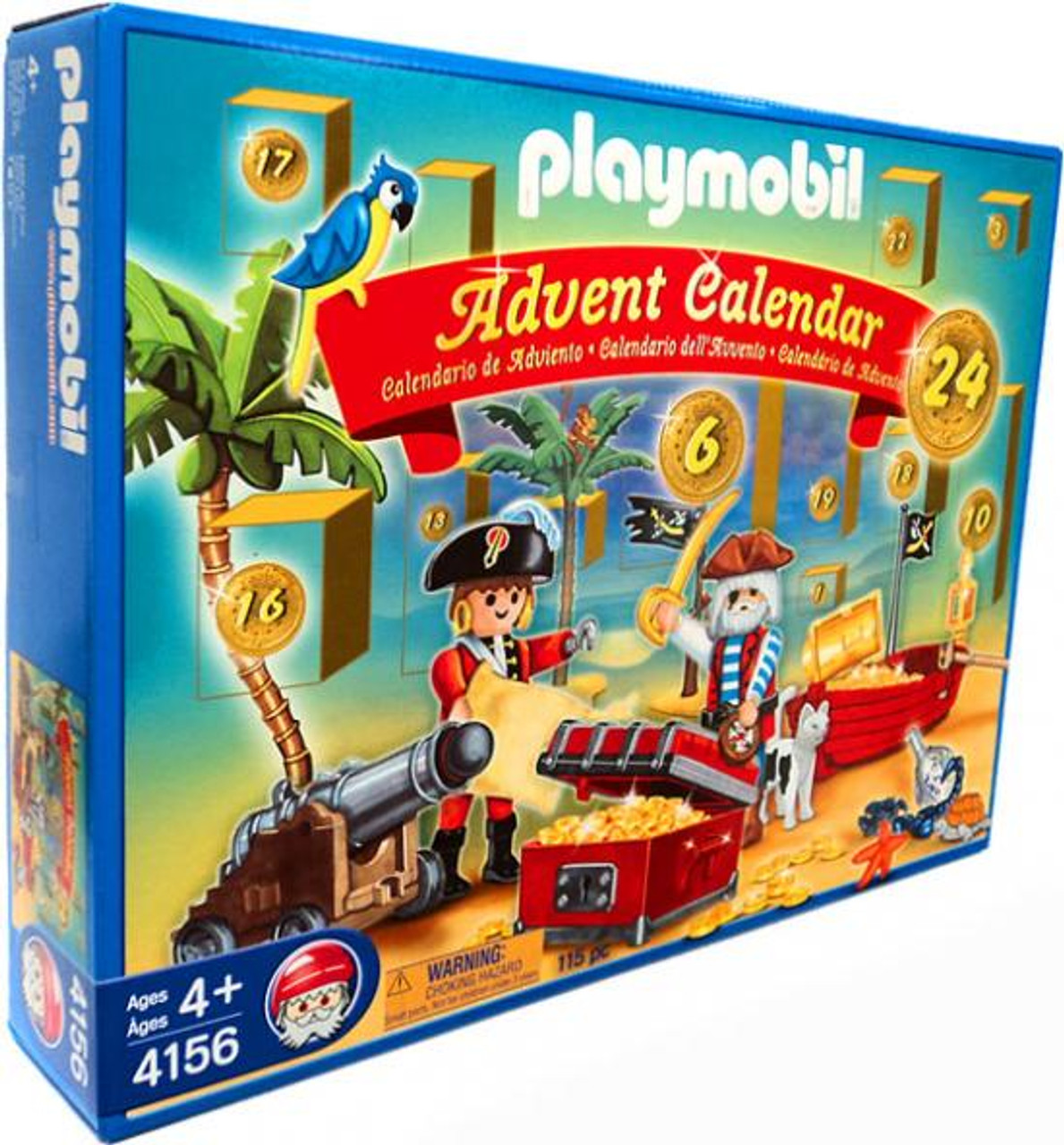 Playmobil Advent Calendar Pirates Set #4156