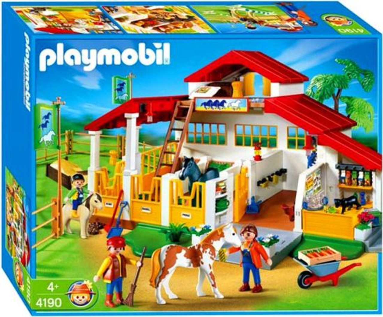 Playmobil Pony Ranch Horse Farm Set #4190