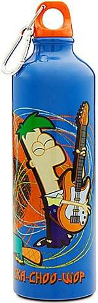 Disney Phineas and Ferb 25 oz Aluminum Water Bottle