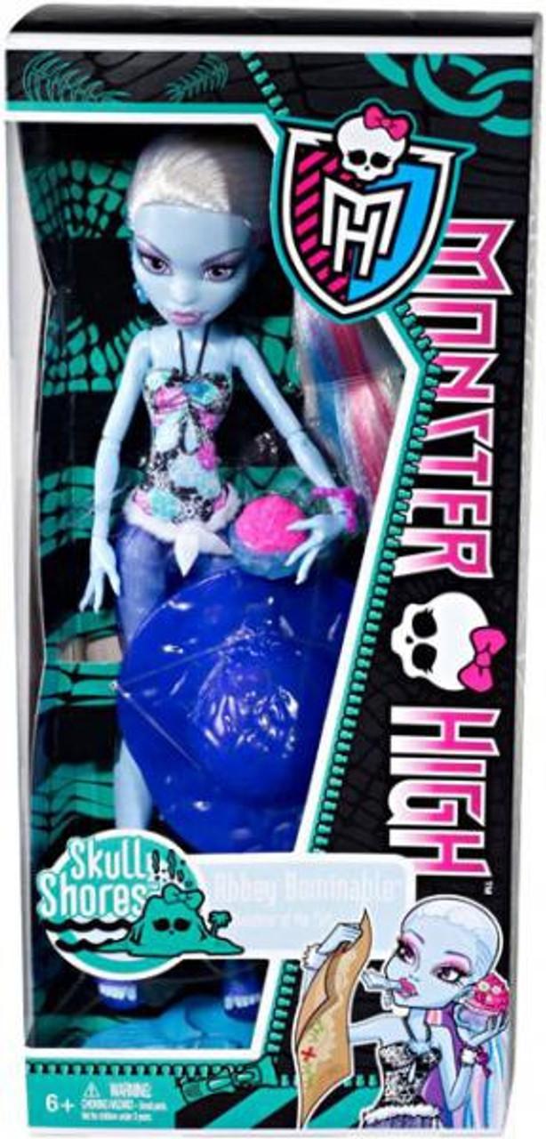 Monster High Skull Shores Abbey Bominable 10.5-Inch Doll