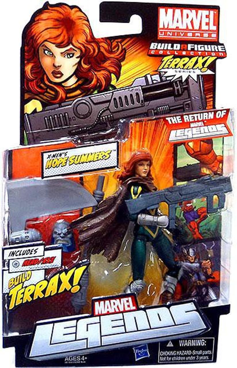 Marvel Legends 2012 Terrax Series Hope Summers Action Figure