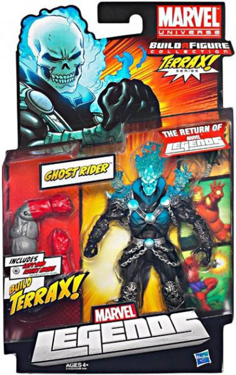 Marvel Legends 2012 Terrax Series Ghost Rider Action Figure [Blue Head]
