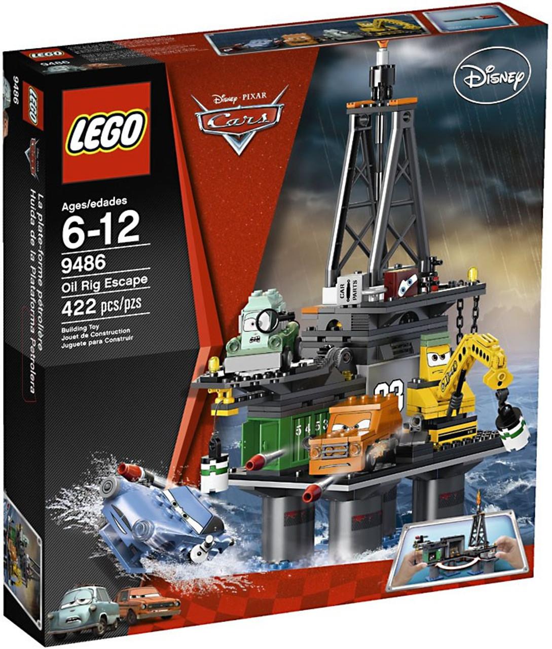 LEGO Disney Cars Oil Rig Escape Set #9486