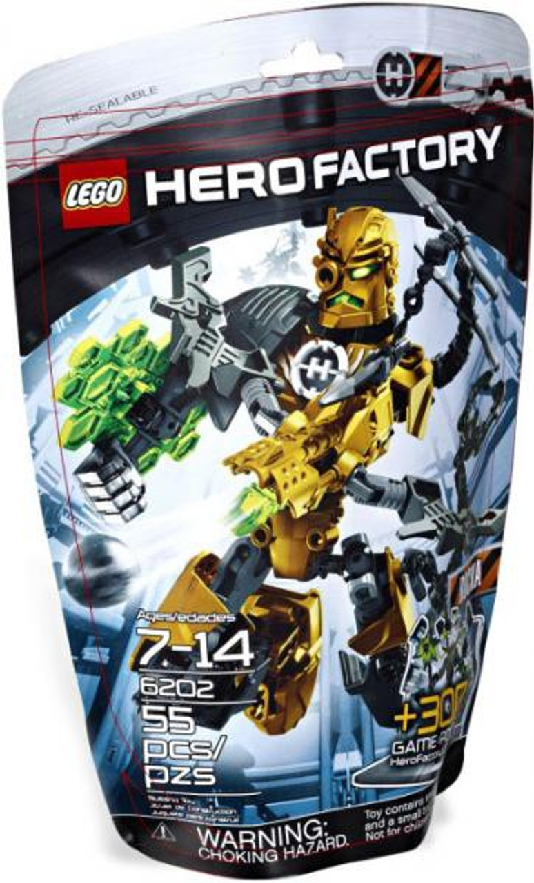 LEGO Hero Factory Rocka Set #6202