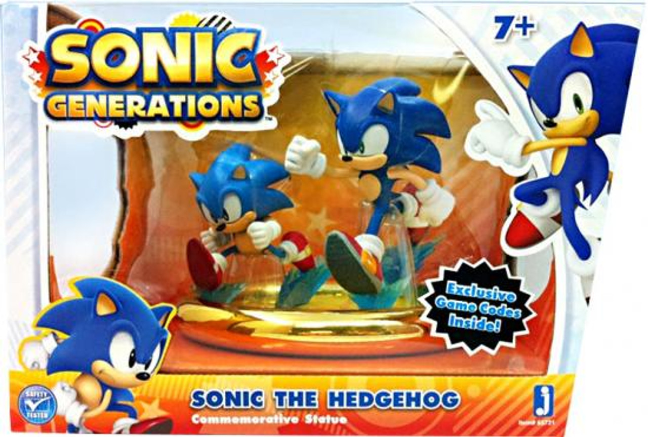 Generations Sonic The Hedgehog Statue 2-Pack