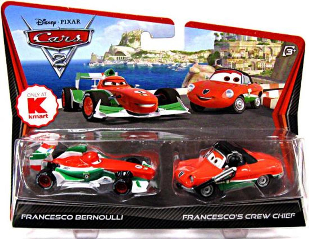 Disney Cars Cars 2 Francesco Bernoulli Francescos Crew Chief ...