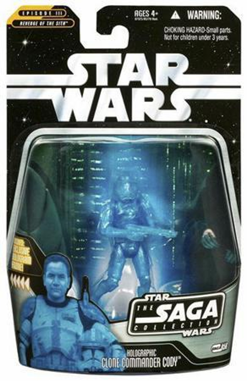 Star Wars Revenge of the Sith Saga Collection 2006 Clone Commander Cody Action Figure #56 [Hologram]