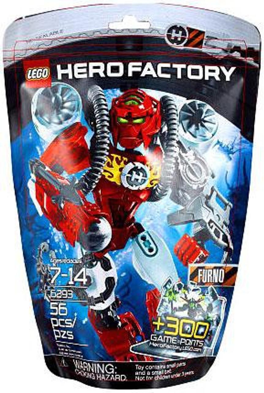 LEGO Hero Factory Furno Set #6293