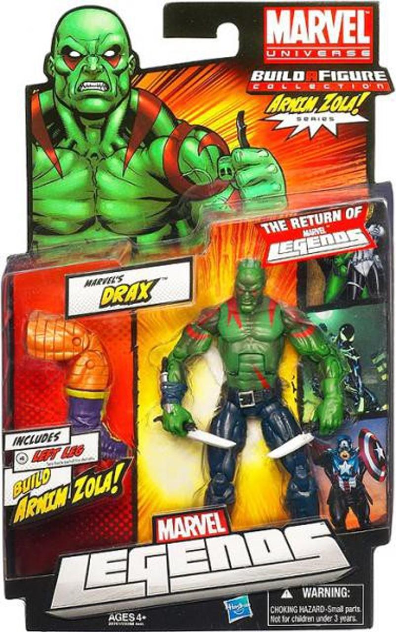 Marvel Legends Arnim Zola Series Drax Action Figure
