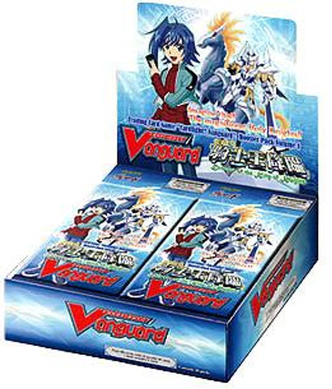 Cardfight Vanguard Descent of the King of Knights Booster Box [30 Packs]