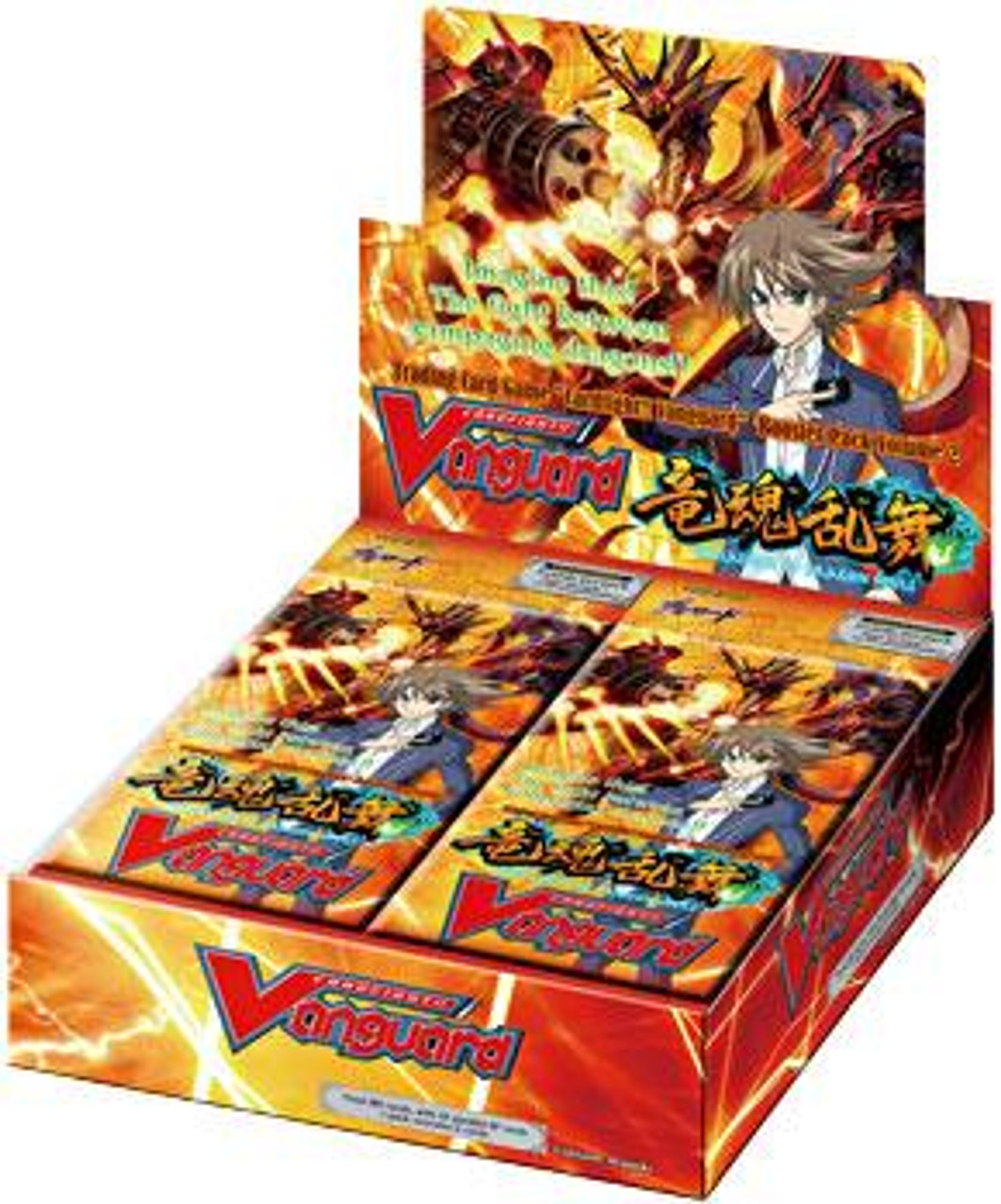 Cardfight Vanguard Onslaught of Dragons Souls Booster Box [30 Packs]