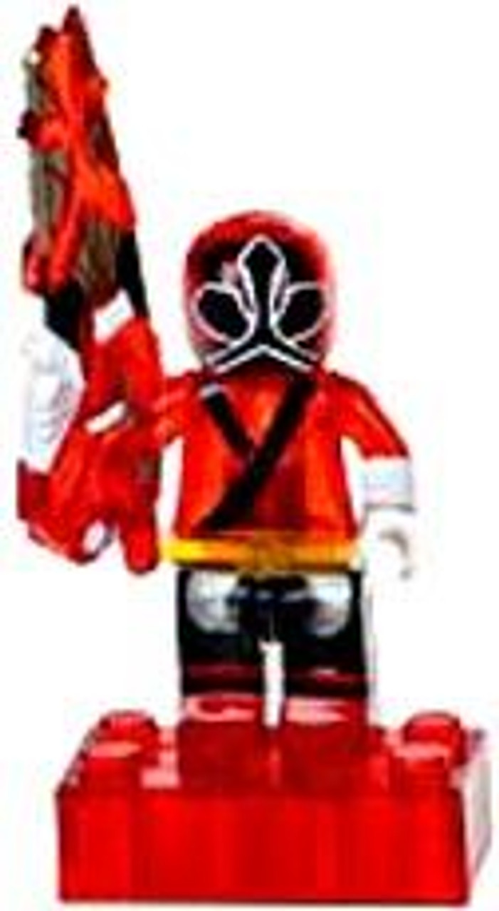 Mega Bloks Power Rangers Samurai Loose Translucent Red Ranger Minifigure [Loose]