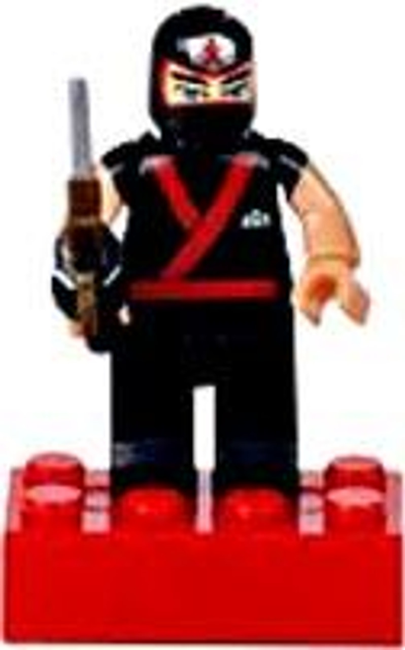 Mega Bloks Power Rangers Samurai Loose Training Mode Red Ranger Minifigure [Loose]