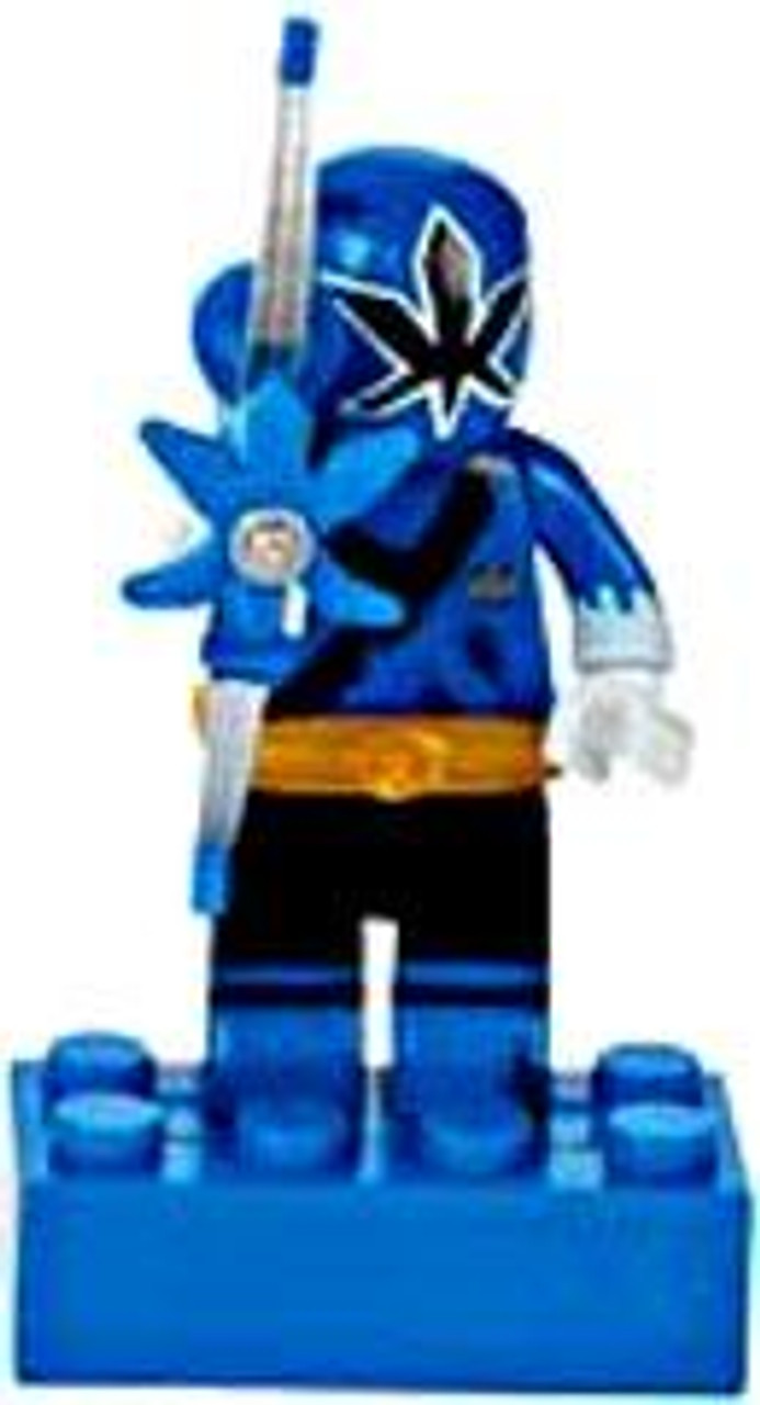 Mega Bloks Power Rangers Samurai Loose Blue Ranger Minifigure [Loose]