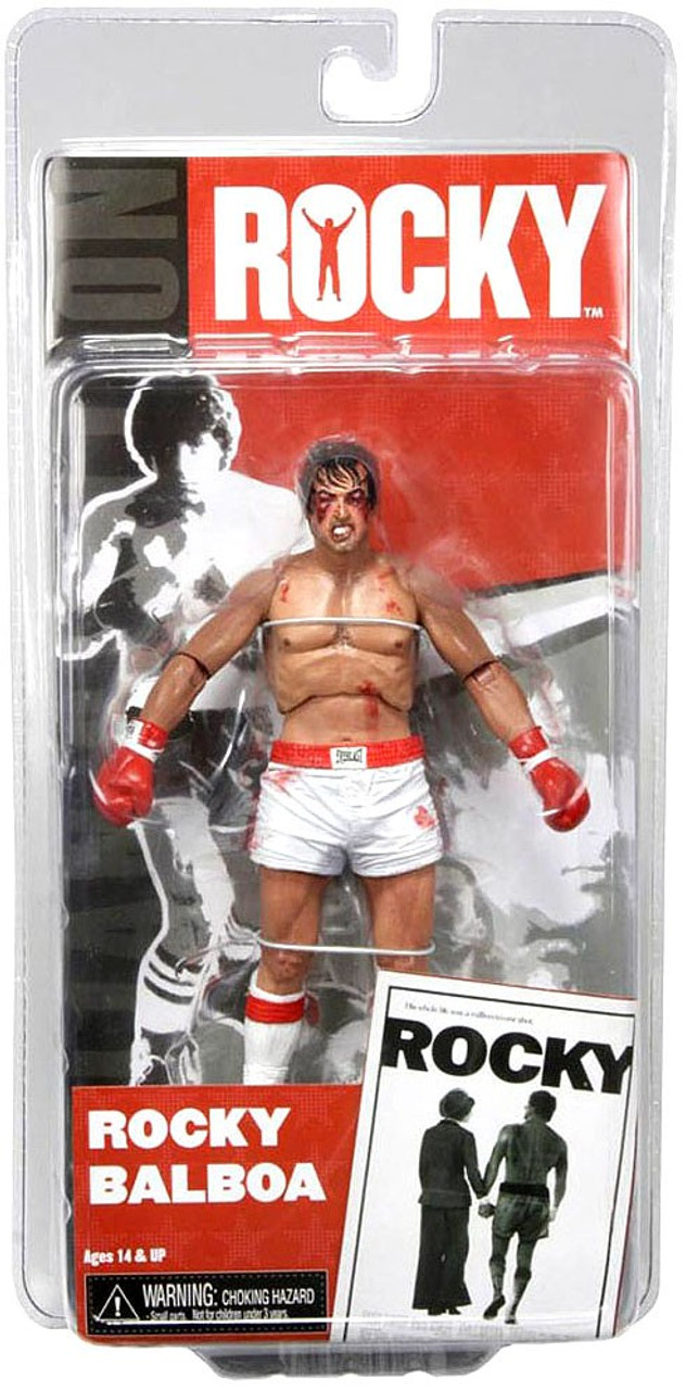 NECA Rocky Balboa Action Figure [Post Fight]