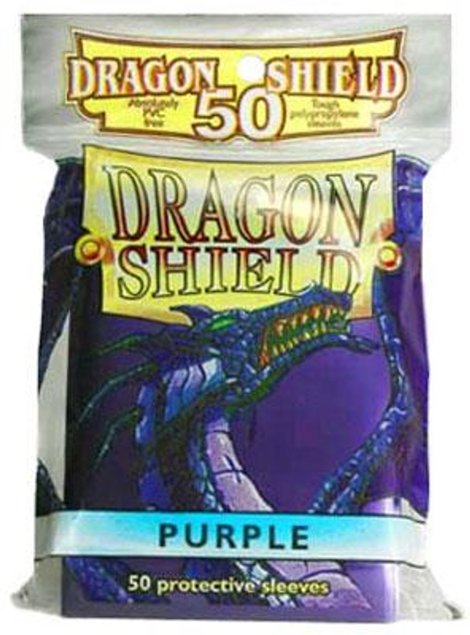 Card Supplies Dragon Shield Purple Standard Card Sleeves [50 Count]