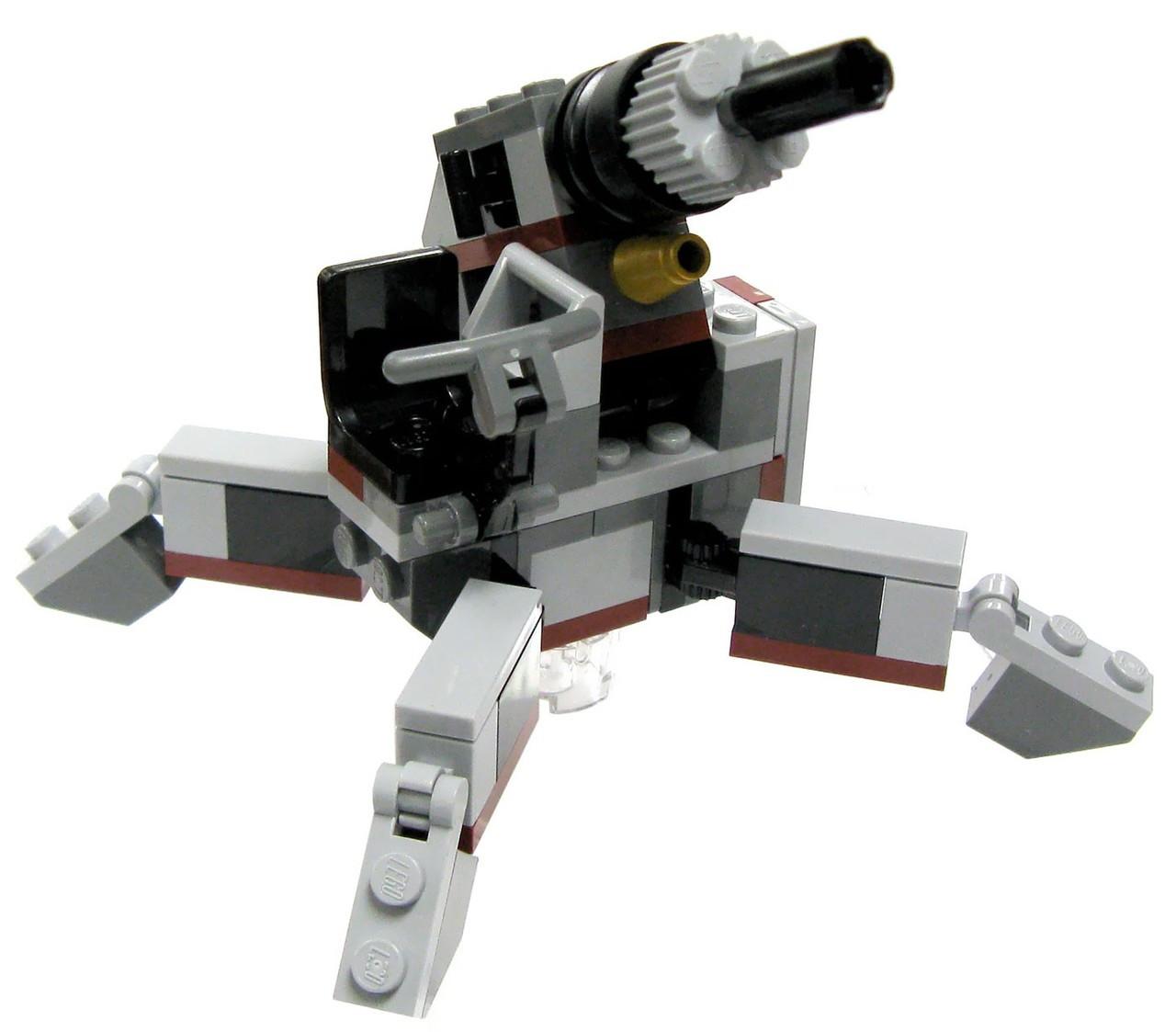 LEGO Star Wars The Clone Wars Loose Mini Vehicles AV-7 Antivehicle Cannon Loose Vehicle [Loose]