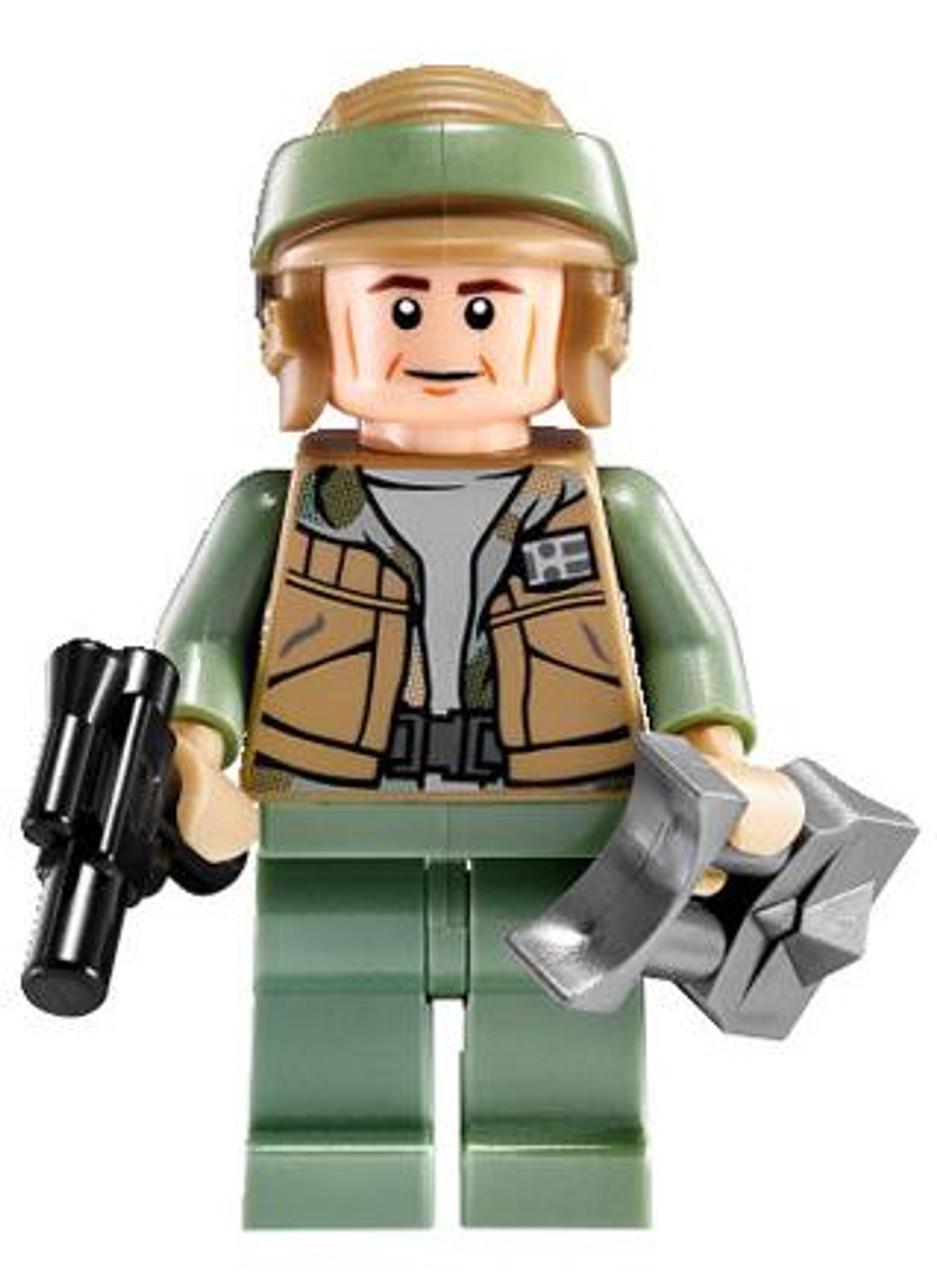 LEGO Star Wars Loose Rebel Commando Minifigure [Pistol & Macrobinoculars Loose]