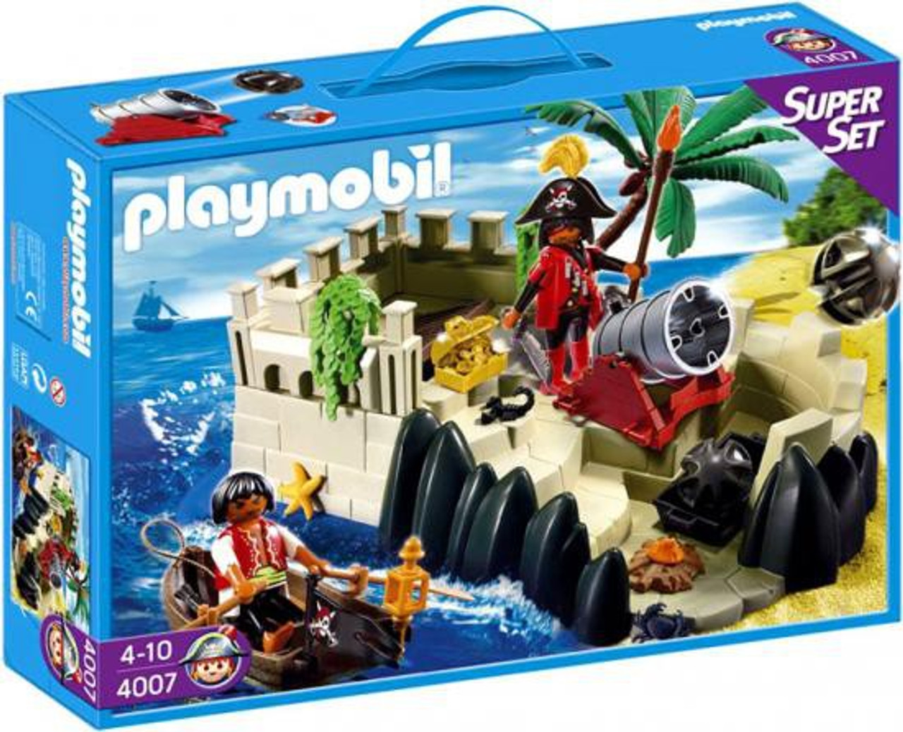 Playmobil Super Set Pirates Cove Set #4007