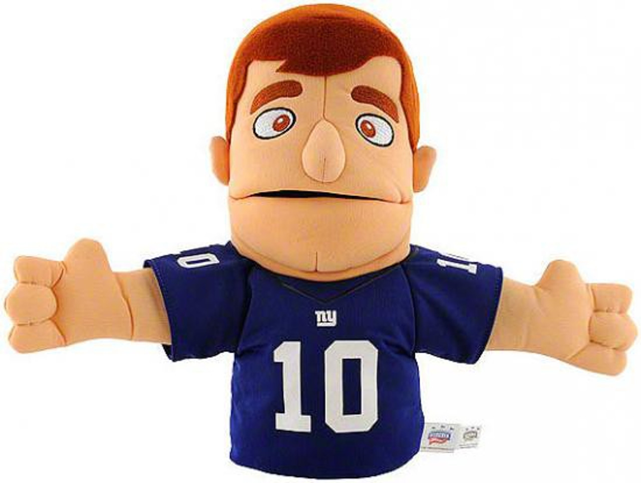 NFL New York Giants Eli Manning 10-Inch Plush Puppet