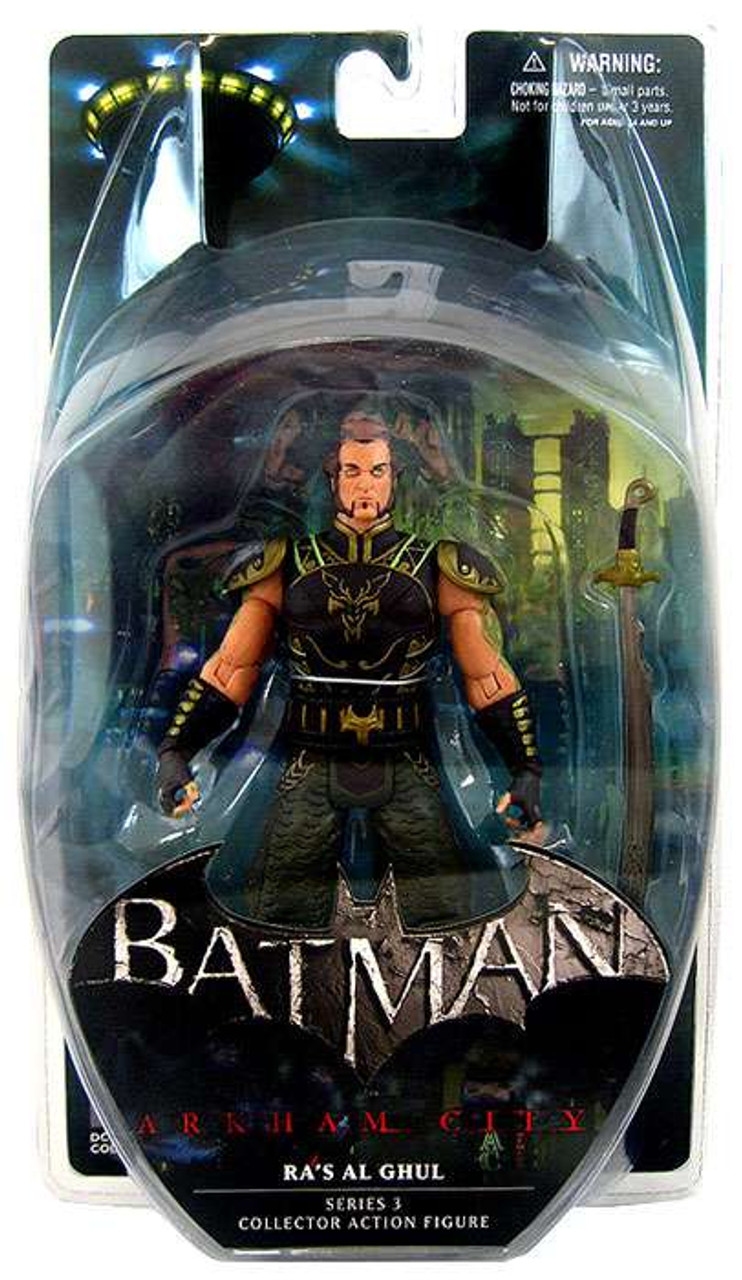 Batman Arkham City Series 3 Ra's al Ghul Action Figure