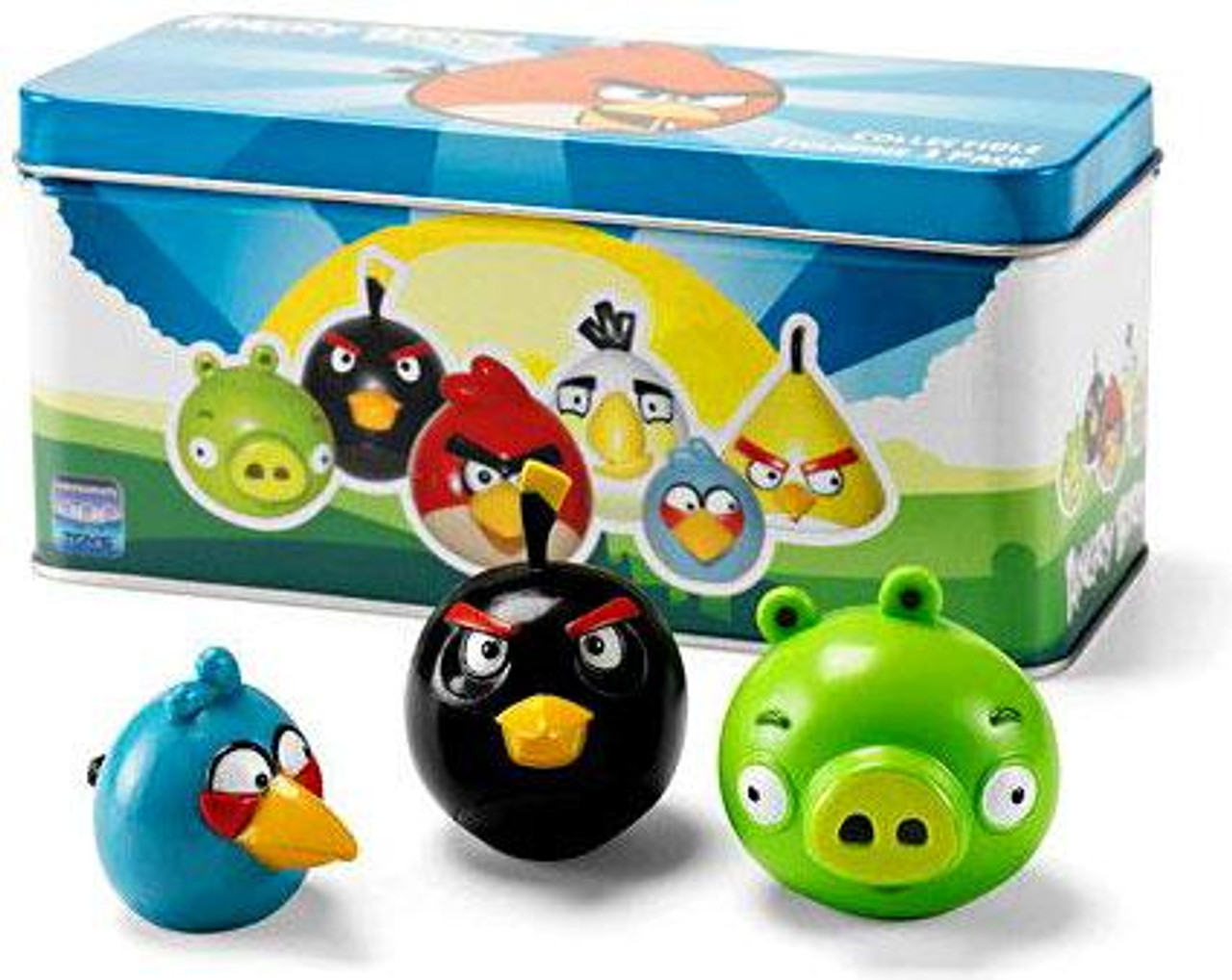 Angry Birds Collectbile Figurines Collectible Tin Figure 3-Pack
