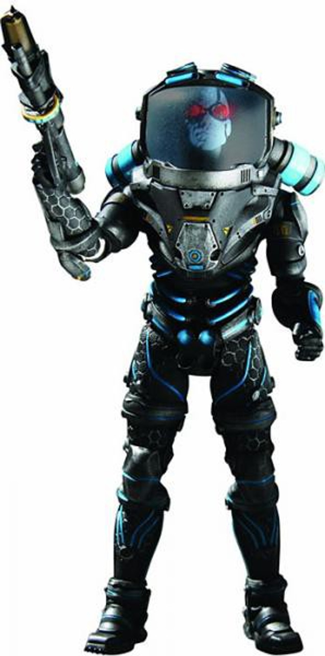 Batman Arkham City Deluxe Mr. Freeze Action Figure