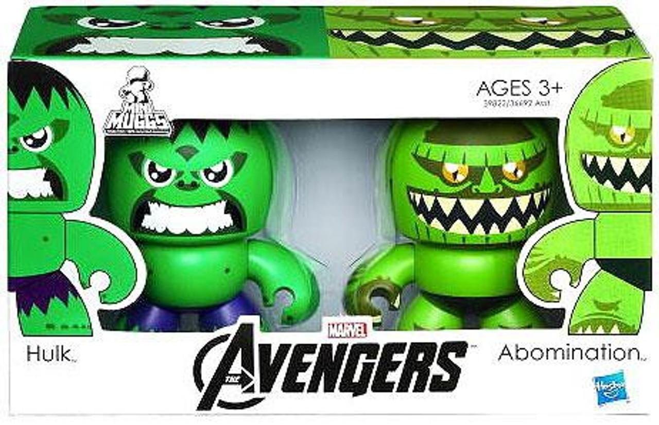 Marvel Avengers Mini Muggs Hulk & Abomination Vinyl Figure 2-Pack
