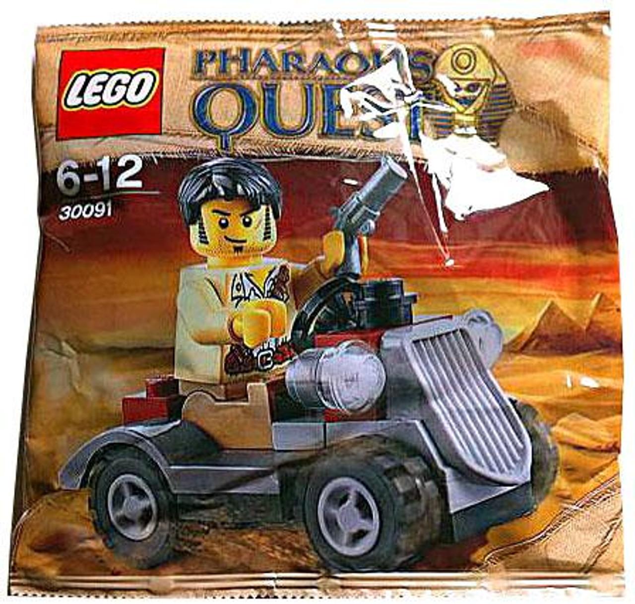 LEGO Pharaoh's Quest Desert Rover Mini Set #30091 [Bagged]