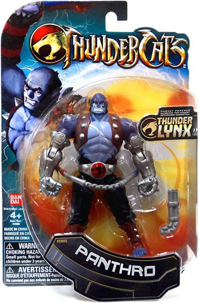 Thundercats Thunder Lynx Basic Panthro Action Figure [Silver Arms]