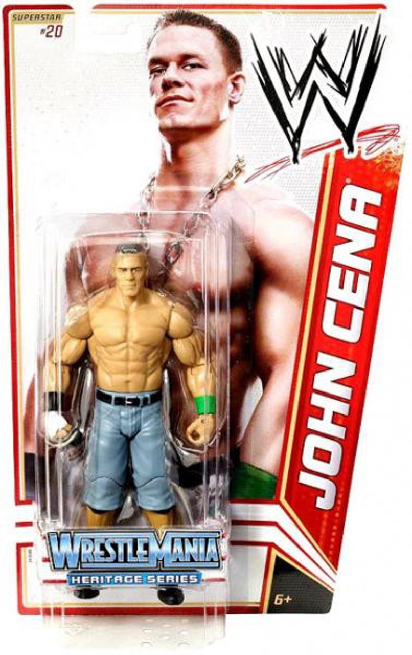 WWE Wrestling Series 16 John Cena Action Figure #20