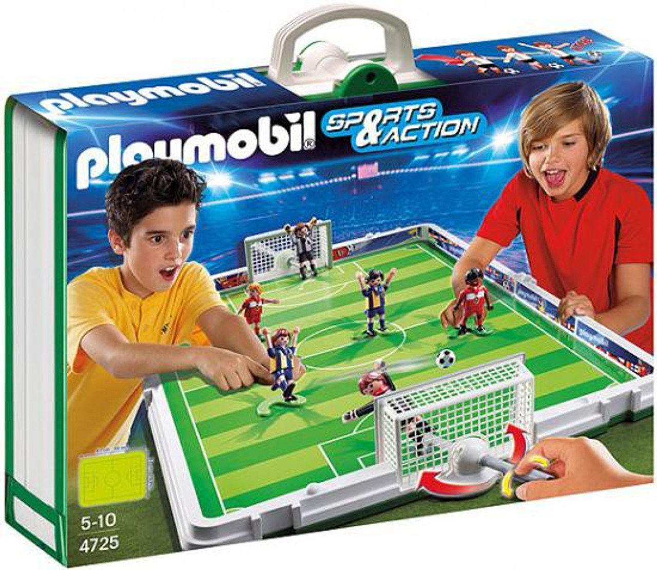 Playmobil Sports & Action Take Along Soccer Match Set #4725