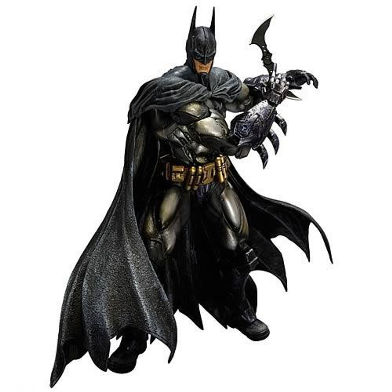 Arkham Asylum Play Arts Kai Armored Batman Action Figure