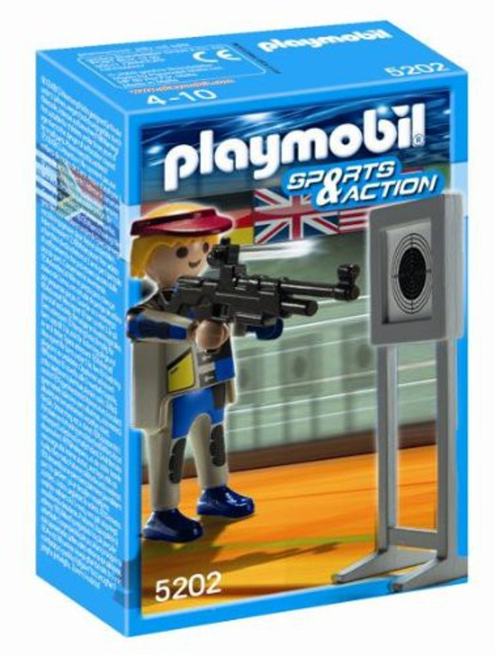 Playmobil High-Performance Athletes Target Shooter Set #5202