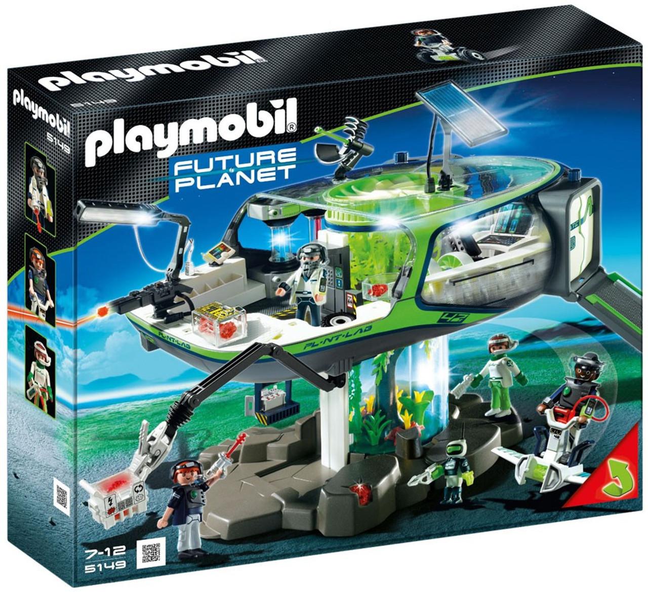 Playmobil Future Planet E-Rangers Headquarters Set #5149