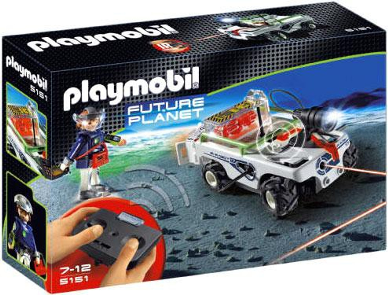 Playmobil Future Planet Explorer Quad with IR Knockout Cannon Set #5151