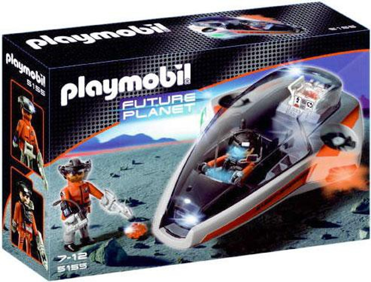 Playmobil Future Planet Dark Rangers' Speed Glider Set #5155