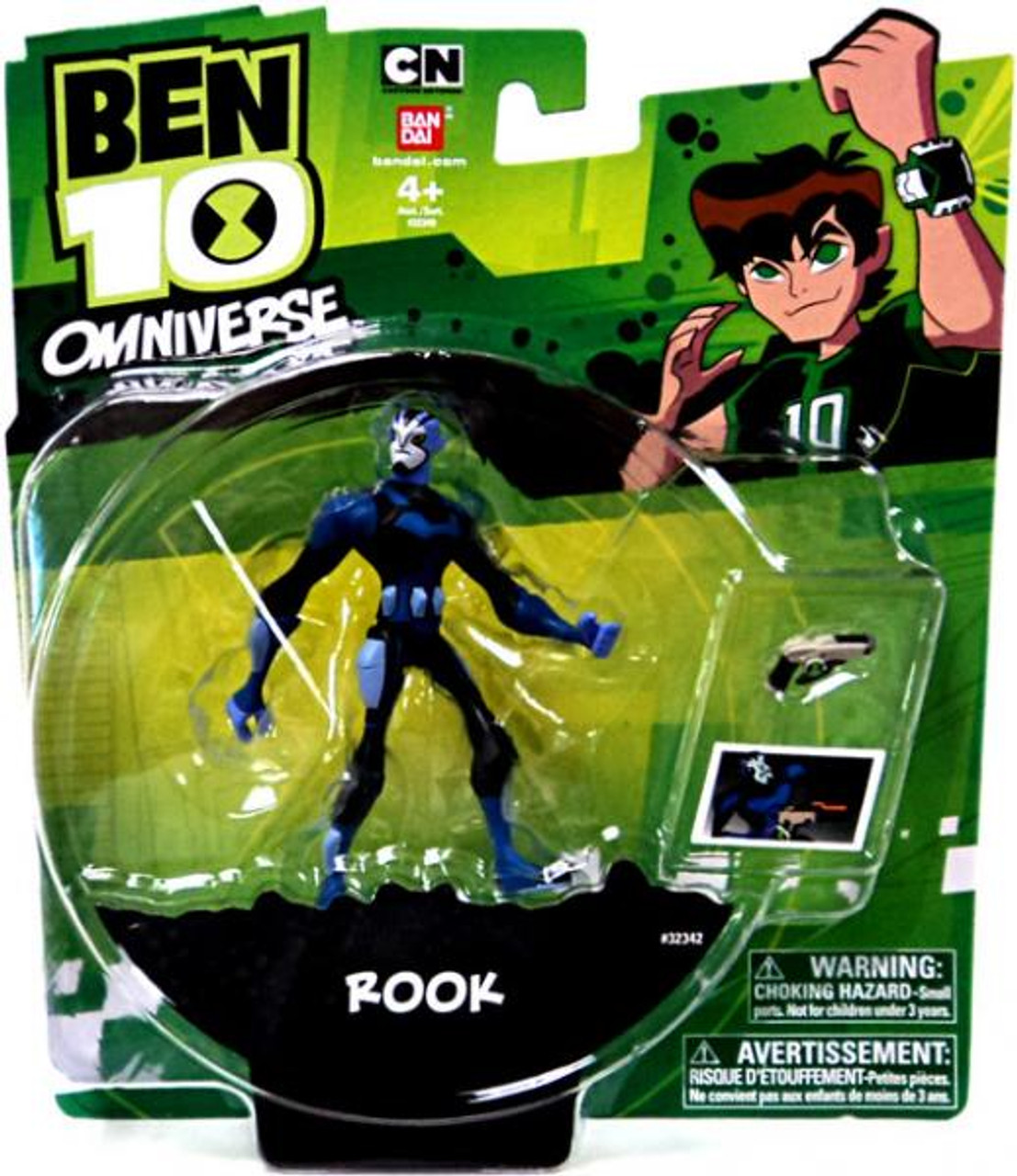 Ben 10 Omniverse Rook Action Figure