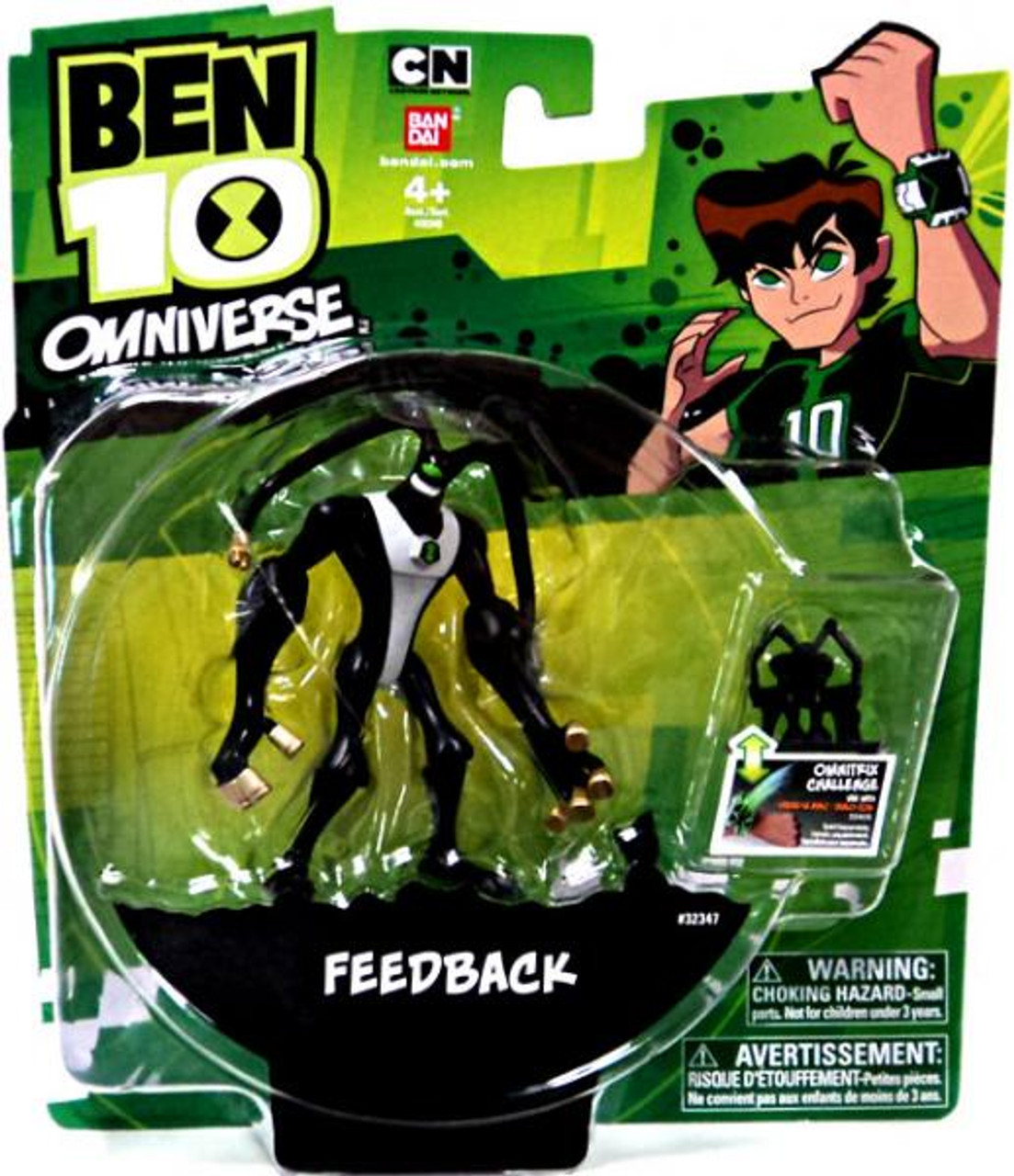 Ben 10 Omniverse 4-Inch Feedback Action Figure