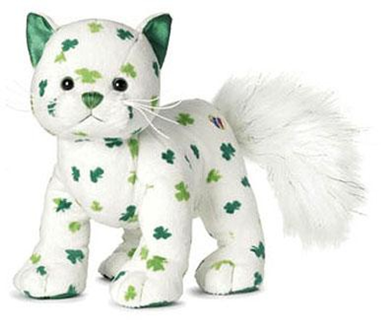 Webkinz Clover Cat Plush