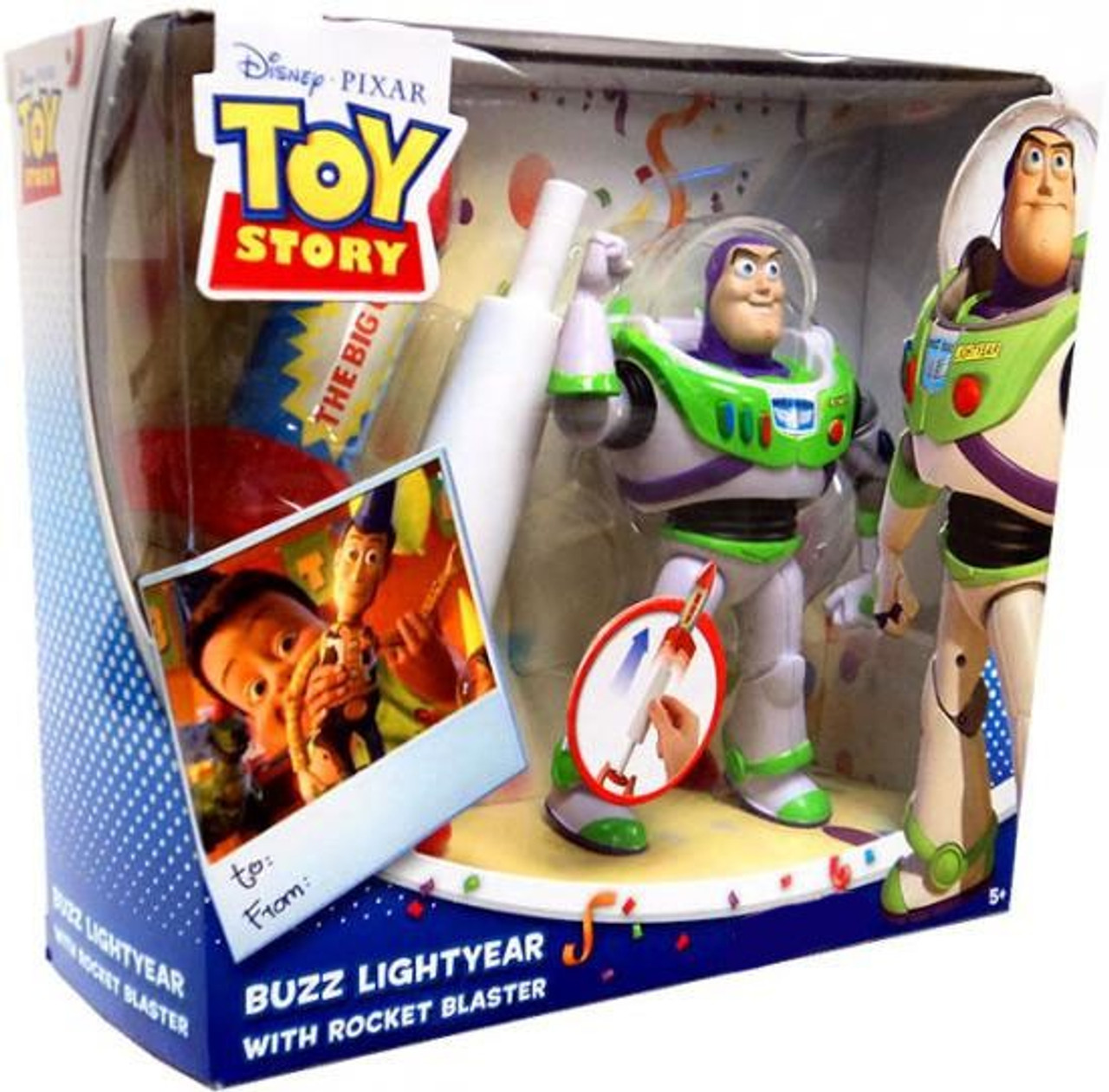 Toy Story Buzz Lightyear Exclusive Action Figure Playset [With Rocket Blaster]