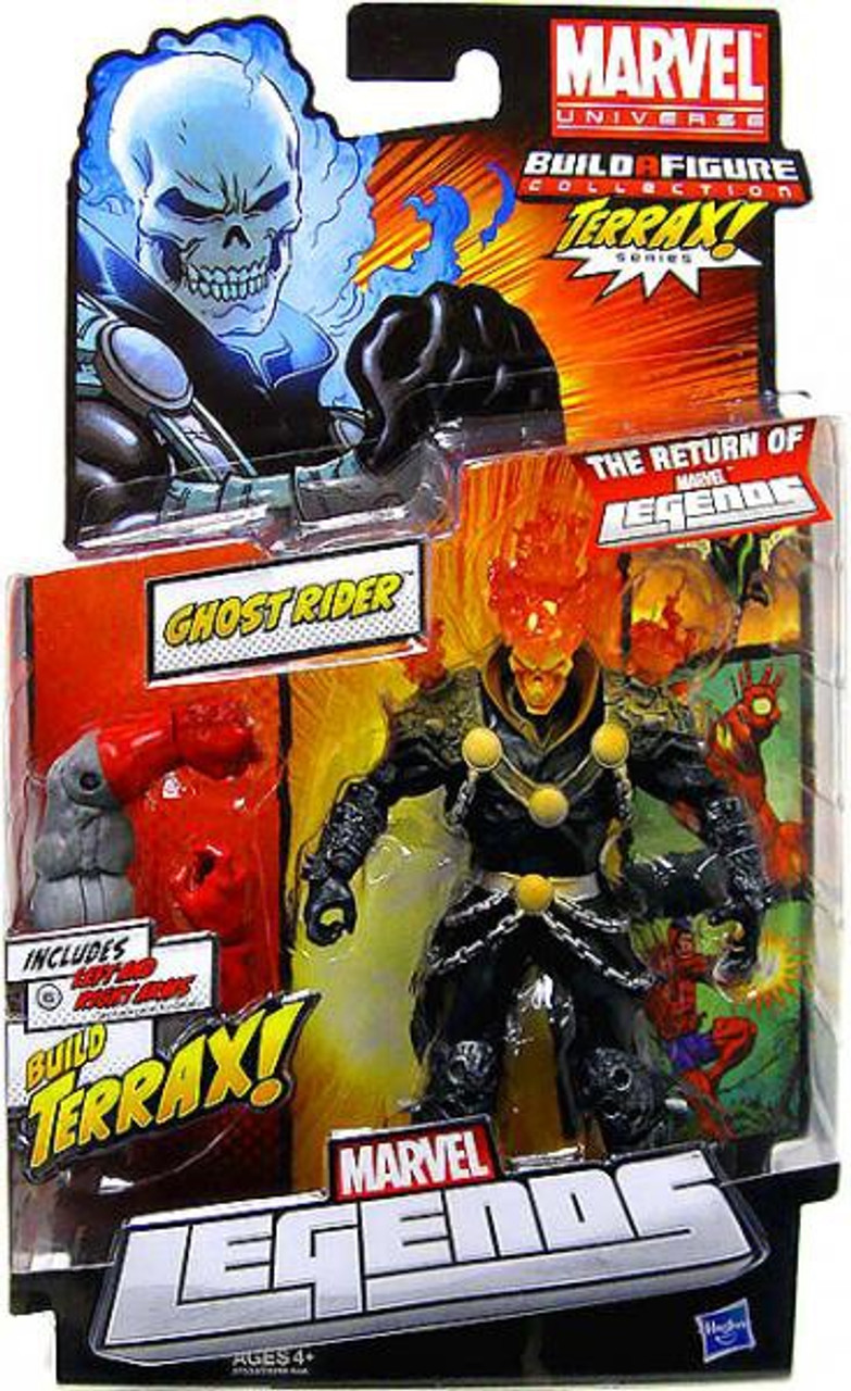 Marvel Legends 2012 Terrax Series Ghost Rider Action Figure [Red / Orange Head Variant]