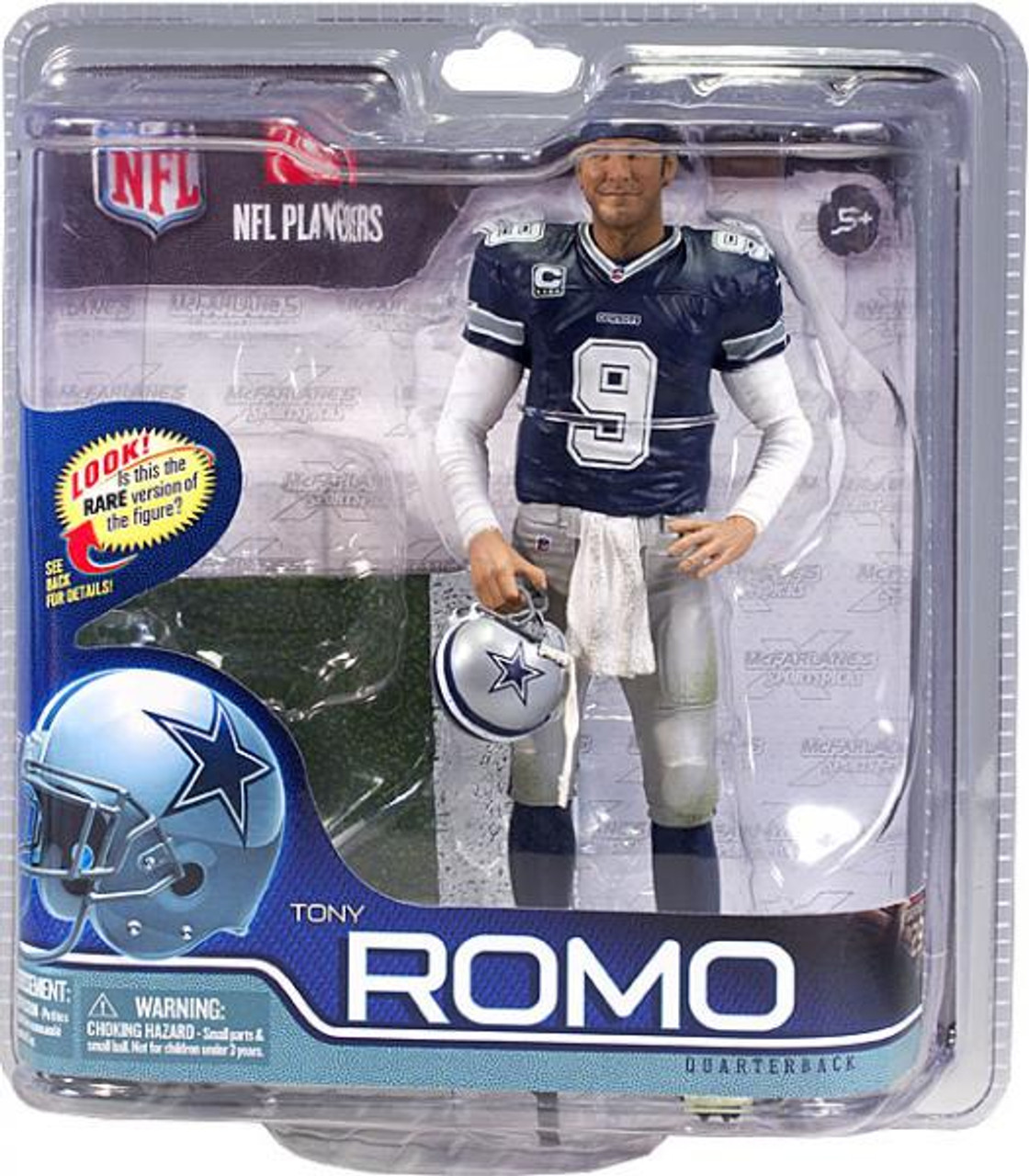 McFarlane Toys NFL Dallas Cowboys Sports Picks Series 29 Tony Romo Action Figure [Blue Jersey]