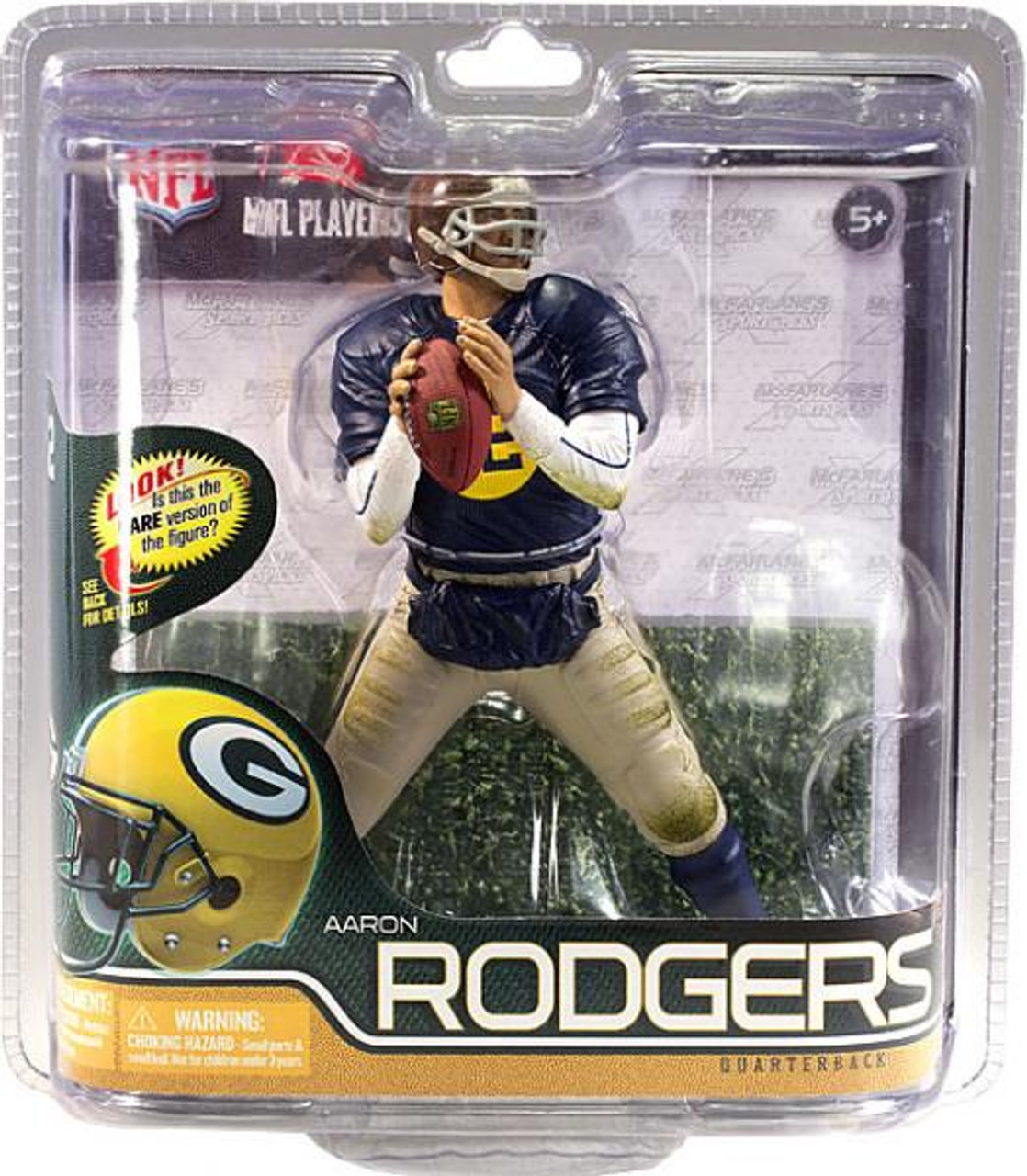 McFarlane Toys NFL Green Bay Packers Sports Picks Series 29 Aaron Rodgers Action Figure [Retro Uniform]