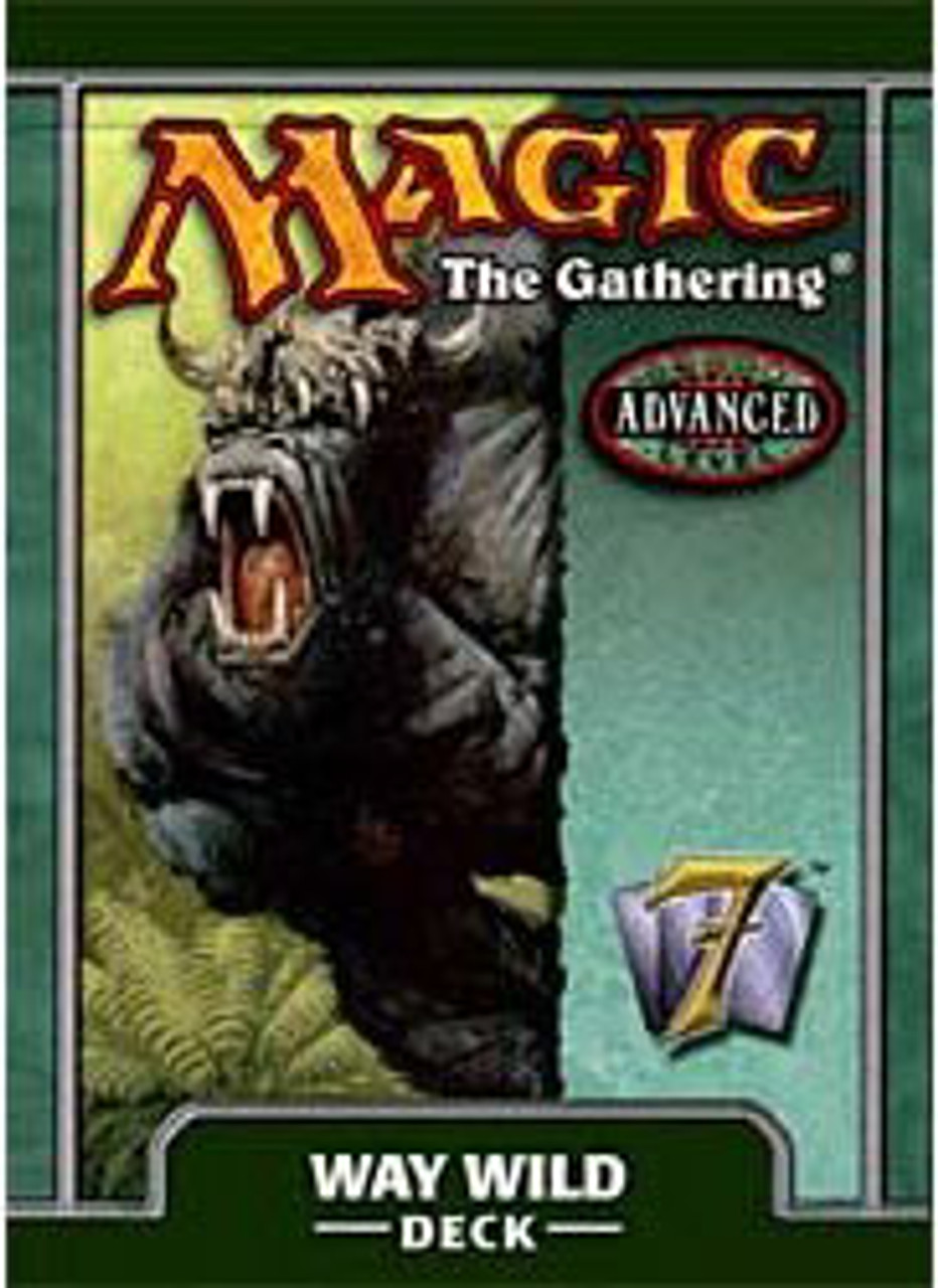 MtG 7th Edition Way Wild Theme Deck [Sealed Deck]