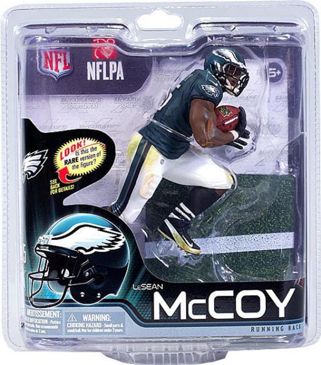 McFarlane Toys NFL Philadelphia Eagles Sports Picks Series 31 LeSean McCoy Action Figure [Green Jersey]