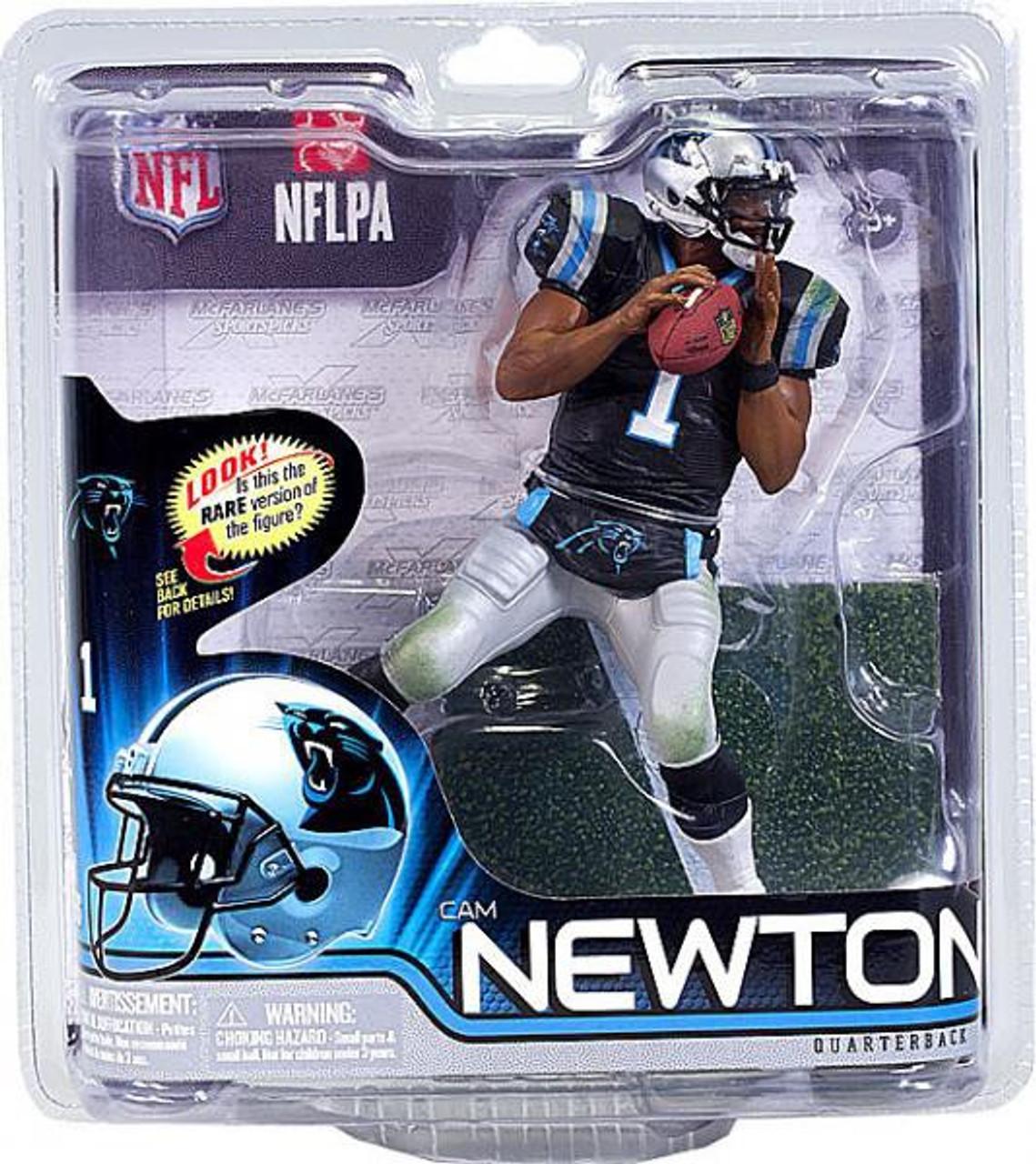 McFarlane Toys NFL Carolina Panthers Sports Picks Series 31 Cam Newton Action Figure Black